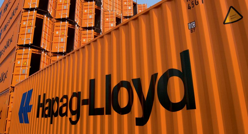 Hapag-Lloyd, Containerschiffe