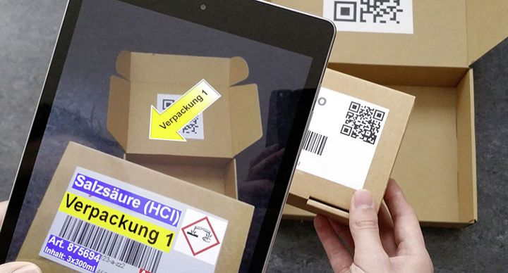 inconso entwickelt Augmented Reality App zur Optimierung des Packvorgangs