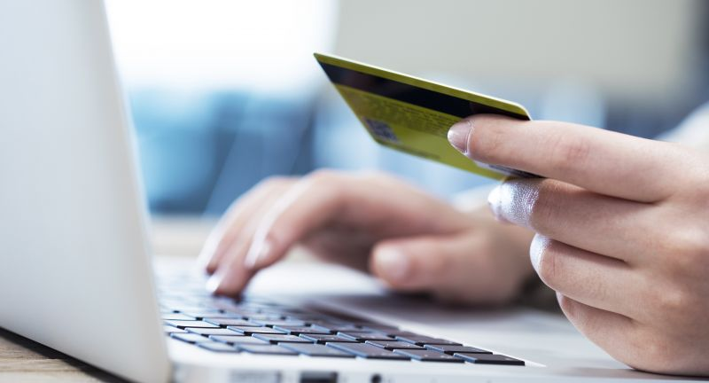 shop, online, internet, shopping, credit card, computer, payment, hand, keyboard, woman, spending, bank, purchase, mobile, commerce, person, close up, finger, banking, pay, paying, business, holding, bill, finance, laptop