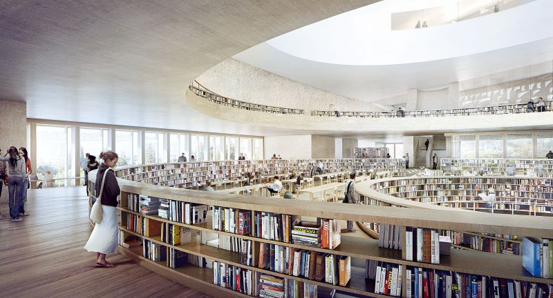 Nationalbibliothek, Jerusalem, Dematic