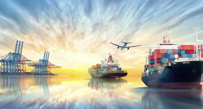 airplane, background, boat, business, cargo, carrier, chain, commerce, commercial, container, crane, delivery, dramatic, export, flight, freight, global, goods, harbor, heavy, import, industrial, industry, international, load, logistics, marine, maritime, merchandise, merchant, nautical, ocean, plane, port, reflection, sea, seaport, ship, shipment, shipping, shipyard, sunset, supply, trade, transport, transportation, twilight, vessel, water, world