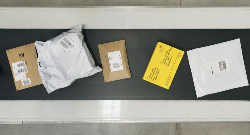 Post, Logistikzentrum, KEP, Paket